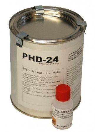 5kg PHD Gelcoat RAL9005 + 100g MEKP-Härter online kaufen