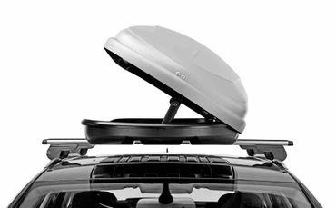 Dachbox Hapro Traxer 6.6 Silver Grey - 410 Liter – Bild 4