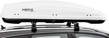 Dachbox Hapro Traxer 6.6 Pure White - 410 Liter – Bild 4