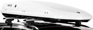 Dachbox Hapro Zenith 8.6 Pure White - 440 Liter – Bild 5