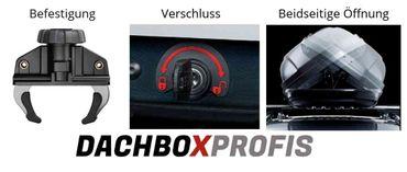 Dachbox - Thule Touring M - Titan Aeroskin - 400 Liter – Bild 4