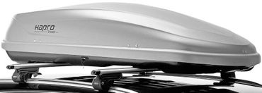 Dachbox Hapro Traxer 5.6 Silver Grey - 370 Liter – Bild 4