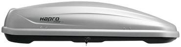 Dachbox Hapro Traxer 5.6 Silver Grey - 370 Liter – Bild 1
