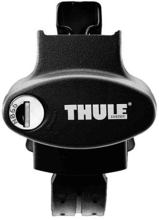 Dachgepäckträger - Thule SquareBar 7123 - 127 cm + Fußsatz 775 - für 27 Modelle – Bild 2