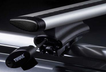 Dachgepäckträger - Thule WingBar 961 - 118 cm + Fußsatz 775 - für 44 Modelle – Bild 2