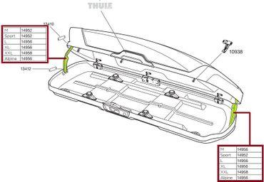 Ersatzteil - Original Thule LidLifter Kit ML 120 - 14958