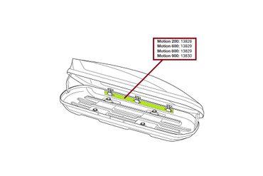 Ersatzteil - Schliessleiste Thule Motion 600 & 800 - 150cm - 13829