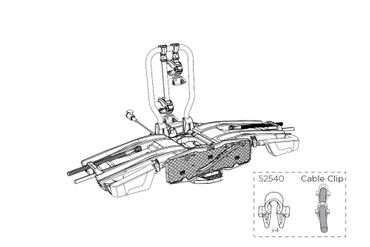 Ersatzteil - Thule Kabelhalter für EasyFold XT - 52540