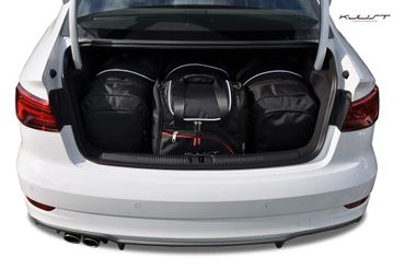 Kofferraumtasche - KJUST - AUDI A3 LIMOUSINE 2012+ CAR BAGS SET - 4 Taschen - 7004005 – Bild 1