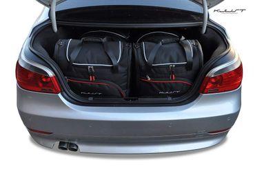 Kofferraumtasche - KJUST - BMW 5 LIMOUSINE, 2003-2010 CAR BAGS SET - 4 Taschen - 7007110 – Bild 1