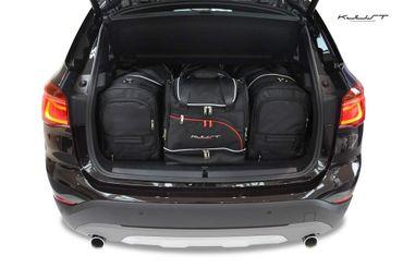 Kofferraumtasche - KJUST - BMW X1 2015+ CAR BAGS SET - 4 Taschen - 7007028 – Bild 1