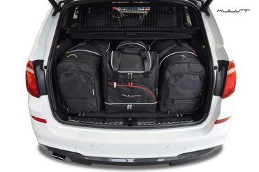 Kofferraumtasche - KJUST - BMW X3 2010-2017 CAR BAGS SET - 4 Taschen - 7007019 – Bild 1