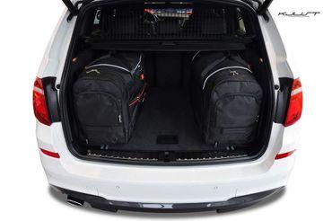 Kofferraumtasche - KJUST - BMW X3 2010-2017 CAR BAGS SET - 4 Taschen - 7007019 – Bild 3