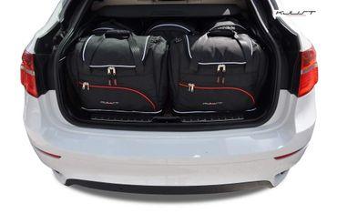 Kofferraumtasche - KJUST - BMW X6 2008-2014 CAR BAGS SET - 5 Taschen - 7007122 – Bild 1