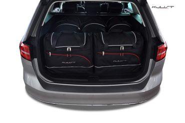 Kofferraumtasche - KJUST - VW PASSAT VARIANT 2014+ CAR BAGS SET - 5 Taschen - 7043010 – Bild 1