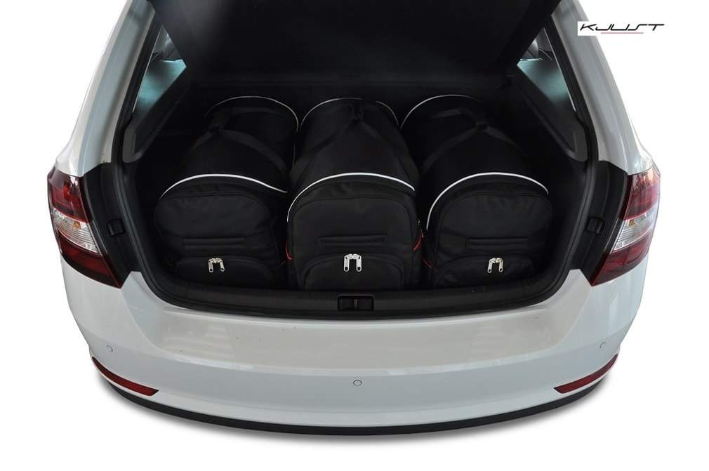 kofferraumtasche kjust skoda rapid spaceback 2012 car. Black Bedroom Furniture Sets. Home Design Ideas