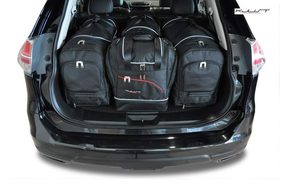kofferraumtasche kjust nissan x trail 2014 car bags. Black Bedroom Furniture Sets. Home Design Ideas