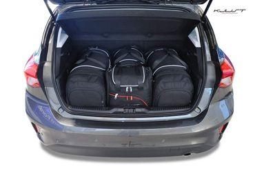 kofferraumtasche kjust ford focus hatchback 2018 car. Black Bedroom Furniture Sets. Home Design Ideas