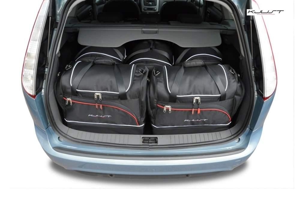 kofferraumtasche kjust ford focus kombi 2003 2011 car bags set 5 taschen 7015104. Black Bedroom Furniture Sets. Home Design Ideas