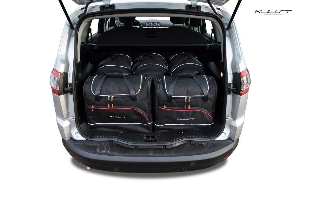 kofferraumtasche kjust ford s max 2006 2015 car bags set 5 taschen 7015032. Black Bedroom Furniture Sets. Home Design Ideas
