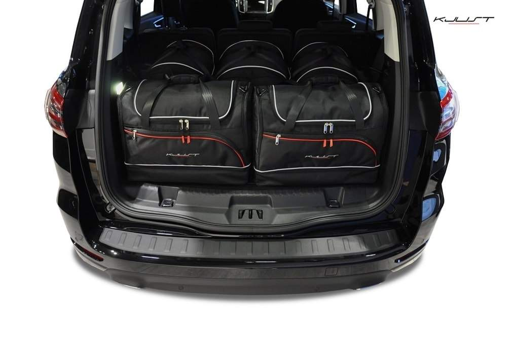 kofferraumtasche kjust ford s max 2015 car bags set 5 taschen 7015011 dachboxprofis. Black Bedroom Furniture Sets. Home Design Ideas