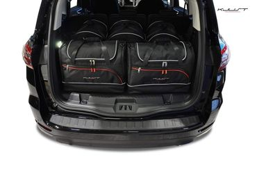 Kofferraumtasche - KJUST - FORD S-MAX 2015+ CAR BAGS SET - 5 Taschen - 7015011 – Bild 1