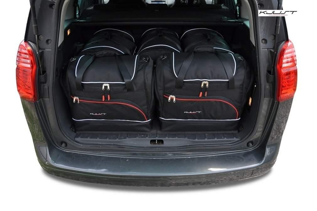 kofferraumtasche kjust peugeot 5008 2009 2016 car bags. Black Bedroom Furniture Sets. Home Design Ideas