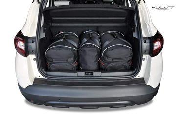 Kofferraumtasche - KJUST - RENAULT CAPTUR 2013+ CAR BAGS SET - 3 Taschen - 7034004