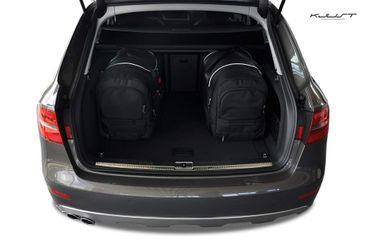 Kofferraumtasche - KJUST - AUDI A4 ALLROAD QUATTRO 2008+ CAR BAGS SET - 5 Taschen - 7004037 – Bild 4
