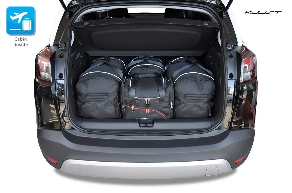 kofferraumtasche kjust opel crossland x 2017 car. Black Bedroom Furniture Sets. Home Design Ideas