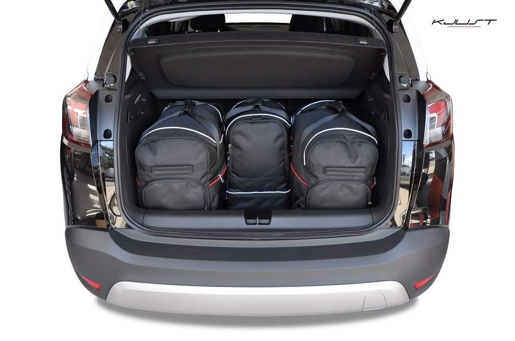 kofferraumtasche kjust opel crossland x 2017 car. Black Bedroom Furniture Sets. Home Design Ideas