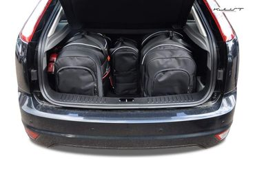 Kofferraumtasche - KJUST - FORD FOCUS HATCHBACK 2004-2011 CAR BAGS SET - 4 Taschen - 7015016 – Bild 2