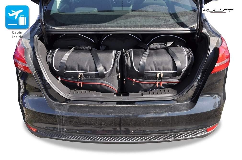 kofferraumtasche kjust ford focus limousine 2011 car bags set 5 taschen 7015014. Black Bedroom Furniture Sets. Home Design Ideas