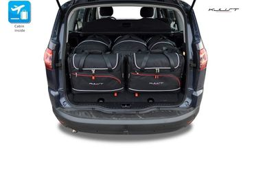 Kofferraumtasche - KJUST - FORD S-Max 2006-2015 CAR BAGS SET - 5 Taschen - 7015029 – Bild 1