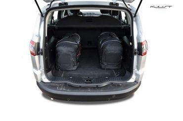 Kofferraumtasche - KJUST - FORD S-Max 2006-2015 CAR BAGS SET - 5 Taschen - 7015030 – Bild 4