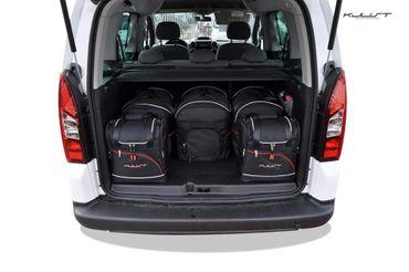 Kofferraumtasche - KJUST - CITROEN BERLINGO 2008+ CAR BAGS SET - 6 Taschen - 7010019 – Bild 2