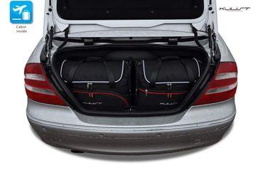 Kofferraumtasche - KJUST - MERCEDES CLK CABRIO 2002-2009 CAR BAGS SET - 4 Taschen - 7027044 – Bild 1