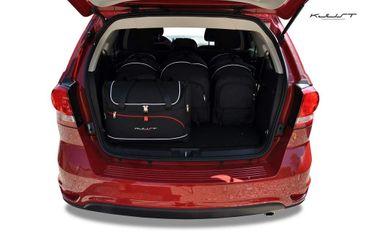 Kofferraumtasche - KJUST - FIAT FREEMONT, 2011- CAR BAGS SET - 5 Taschen - 7014006 – Bild 2