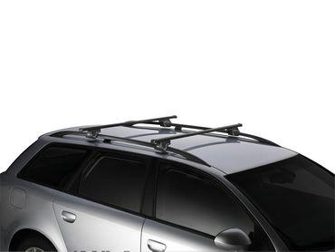 Dachgepäckträger - Thule SquareBar Stahl - für Mercedes E-Klasse All-Terrain (S213) 2016+ – Bild 2