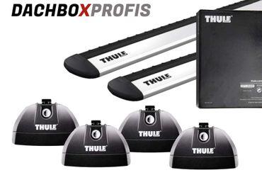Dachgepäckträger - Thule WingBar ALU - für Mazda 2 2007-2014 - mit Fixpunkten – Bild 1