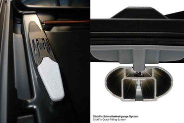 Dachbox Kamei Corvara S 475 Liter Carbon-Grau matt – Bild 4