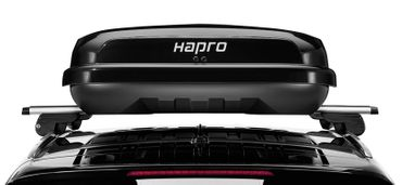 Dachbox Hapro Nordic 10.8 Brilliant Black - 460 Liter – Bild 4