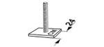 Dachboxen - T-Nut Befestigung Kamei (M6) - für Modelle Delphin, Husky, Topstar 001