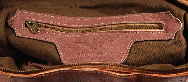 Caragna - Leder Schultertasche Hobobag mit MultiColour Nieten Used-Look MEDITERRAN URBAN BAG Damen Handtaschen Shopper Henkeltaschen Beuteltasche 32x30x10 cm (B x H x T) – Bild 15