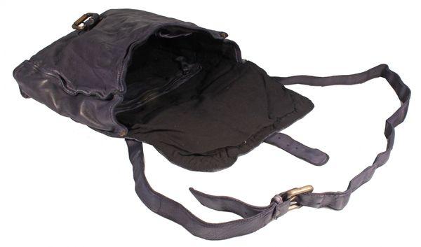 Pontegio - Schultertasche Beuteltasche Satchel Bag Leder Used-Look MittelFormat Damen Umhängetaschen Handtaschen Henkeltaschen 26x26x7 cm (B x H x T) – Bild 3