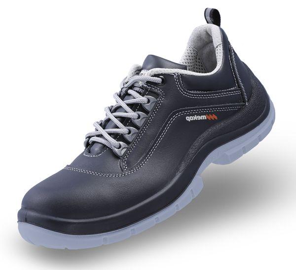 NAKODA ATP-40 S3 - Unisex Erwachsene Arbeits & Sicherheitsschuhe S3 SRC ESD Mekap Safety Shoes Footwear Leder Stahlzwischensohle – Bild 1
