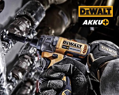 DeWALT® AKKU+ Aktion
