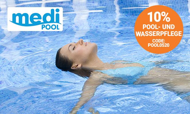10% auf Pool- und Wasserpflege