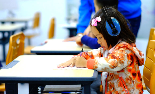 Mehr Erfolg in der Schule durch Gehörschutz!