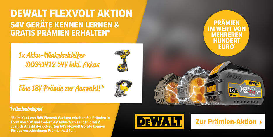 Dewalt Flexvolt Kennenlern Aktion